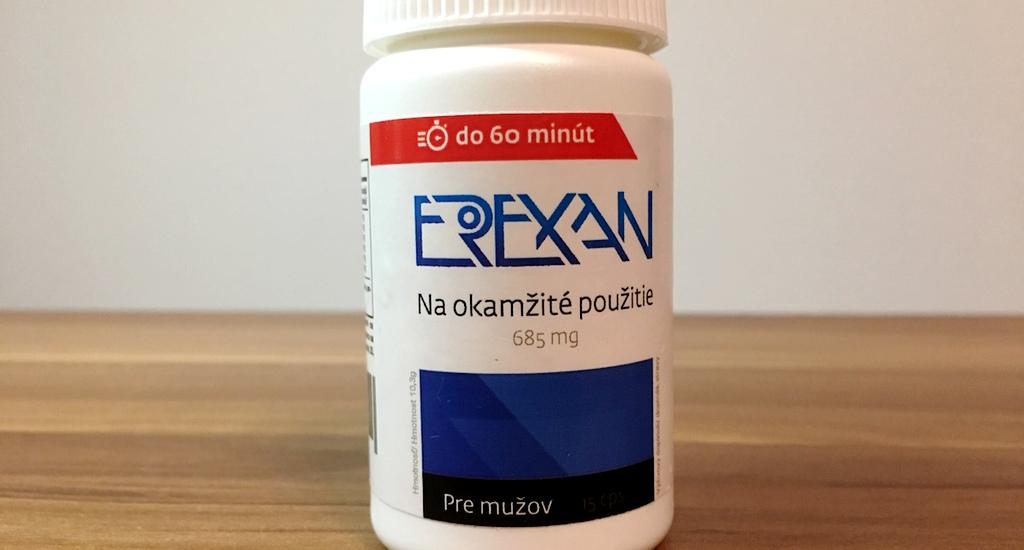 Erexan - recenzia