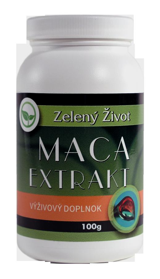 Prášok Maca extrakt 100g (eshop ZelenýŽivot)