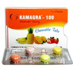 Kamagra - žuvacie tablety